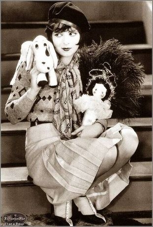 Clara Bow, The It Girl with the bow lips