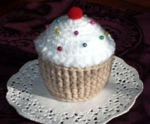 Crochet Cup Cake by Ccampbell0509