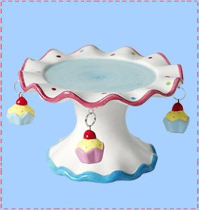 Mini cake stand by Cloth-ears