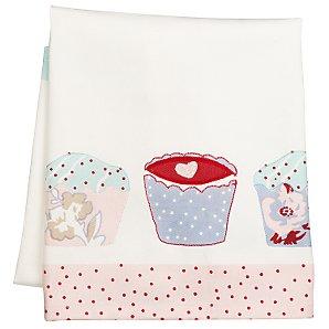 Cup cake tea towel by John Lewis