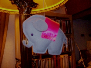 Felt Circus Elephant by Stephanie Faith 2009