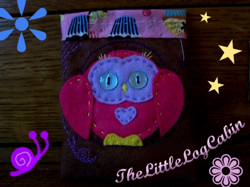 Owl Coin Purse #3 by Stephanie Faith - for sale