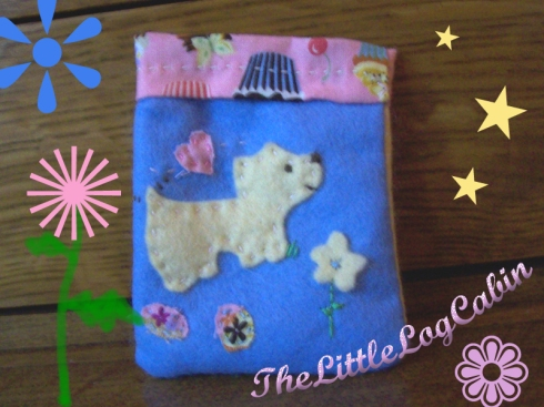 Scotty Dog Coin Purse by Stephanie Faith - for sale